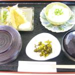 ざる豆腐定食800円
