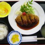 豚ロースカツ定食 800円