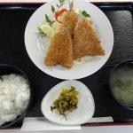 キスフライ定食800円